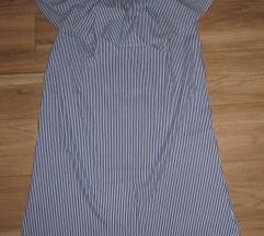 Pisana modna oblekica off shulder