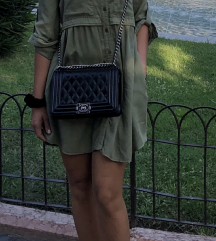 Olivno zelena poletna oblekca