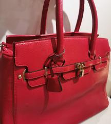 rdeča ''hermes'' torba