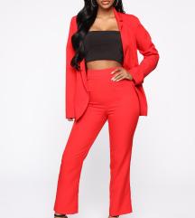 Suit Set - Red