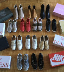 Guess, Nike, Michael Kors in Timberland superge
