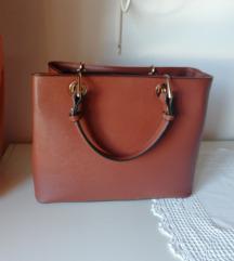 Rjava konjak torbica