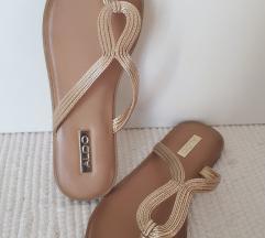 ALDO letni sandali z zlatimi paski