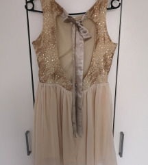 Svecana kratka obleka M