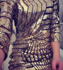 REZ: sparkle modna obleka