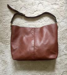 Rjava torbica (imitacija usnja)