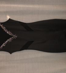 Obleka z diamantki velikost S