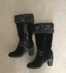 AKCIJA! Topli zimski škornji z muco