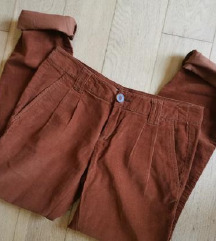 Zara NOVE žametne hlače