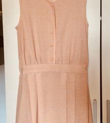 Nova marelično roza obleka