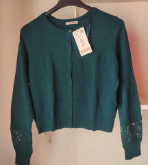 Orsay zelena jopica z etiketo / NOVA, MPC  30 eur
