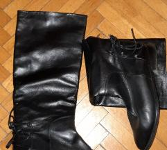 Usnjeni visoki škornji