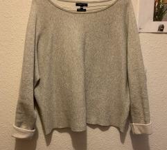 MASSIMO DUTI  svetlo siv pulover