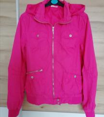 Roza prehodna jakna xs