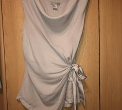 Nude top h&m