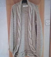 Zara knit dolga jopa