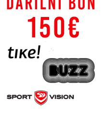 Darilni bon TIKE!, Buzz, Sport Vision