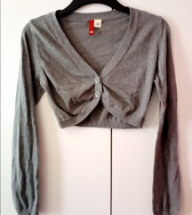 Siva cropped jopa cardigan top bolero