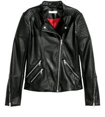 Usnjena biker jakna