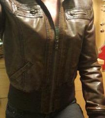 usnjena jakna S M