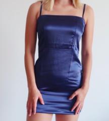 Nasty Gal modra obleka