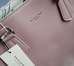 Nova roza torbica David Jones