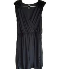 Črna elegantna majica/tunika