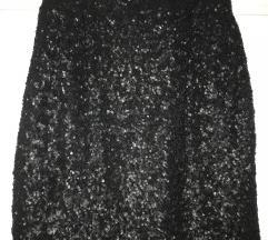 Elegantno črno krilo