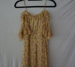 Potiskana kratka obleka