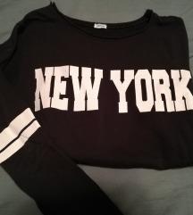 Črna majcka New York