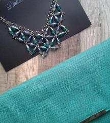 Pisemka torbica in ogrlica