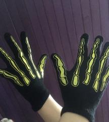 Rokavice s potiskom kosti