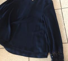 Temno modra srajca Zara