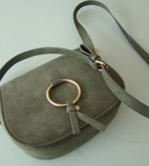 rez.ORSAY olive zlati detajli torbica