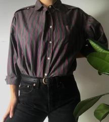 vintage črtasta srajca