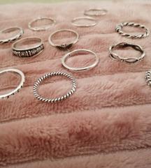 Komplet prstanov  REZ.