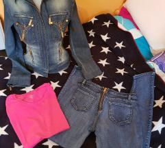 Jeans komplet
