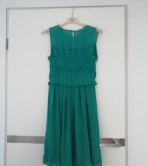 Turkizna obleka Marela