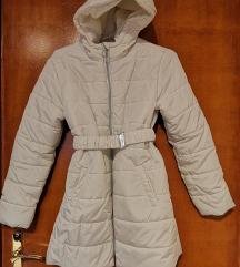 Bela prešita jakna