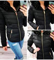 NOVO: črna bunda M