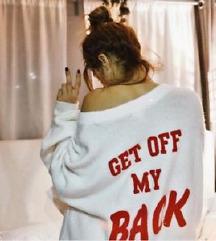 H&M GET OFF MY BACK - pulover