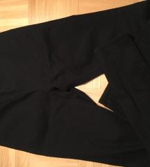 High waisted črne hlače