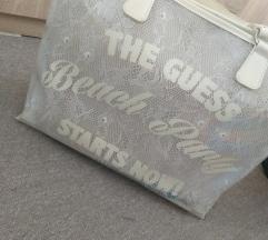 Velika GUESS torba za na plazo