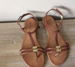 rjavi sandali