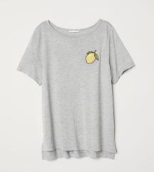Siva majica z limono