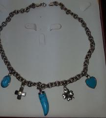 Srebrna verižica (srebro 925) nenošena