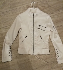 Bela jakna Xs
