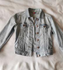 Krajša jeans jakna