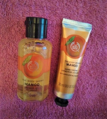 The Body Shop mango tuš gel in krema za roke