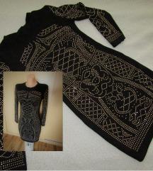 črno -'zlata' oblekica S/M